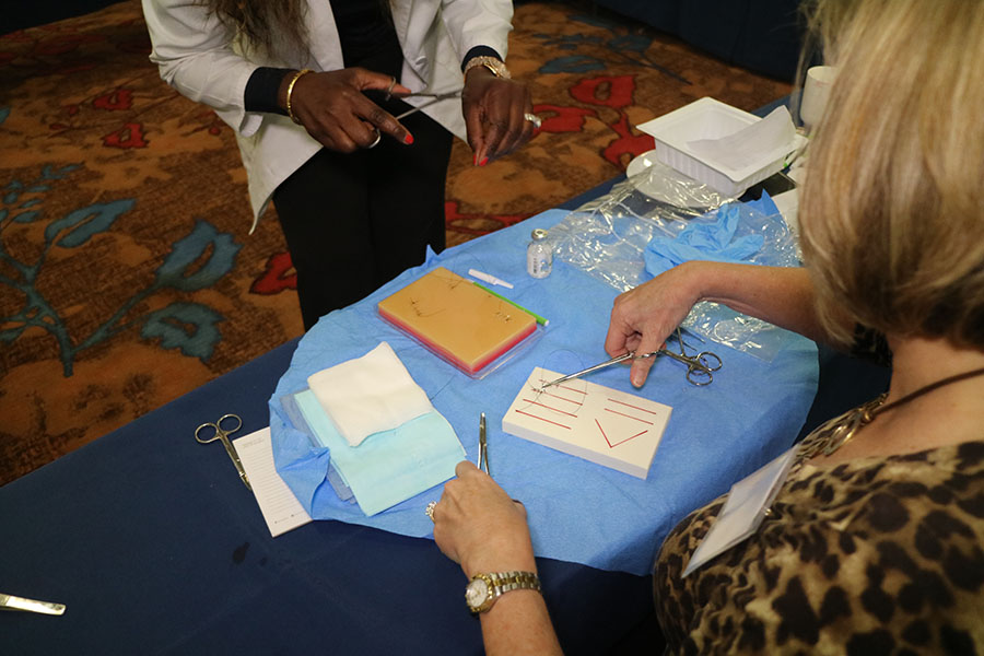 INPS Basic and Advanced Suturing Workshop Atlanta Georgia