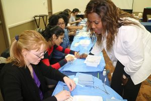 INPS basic and advanced suturing workshop