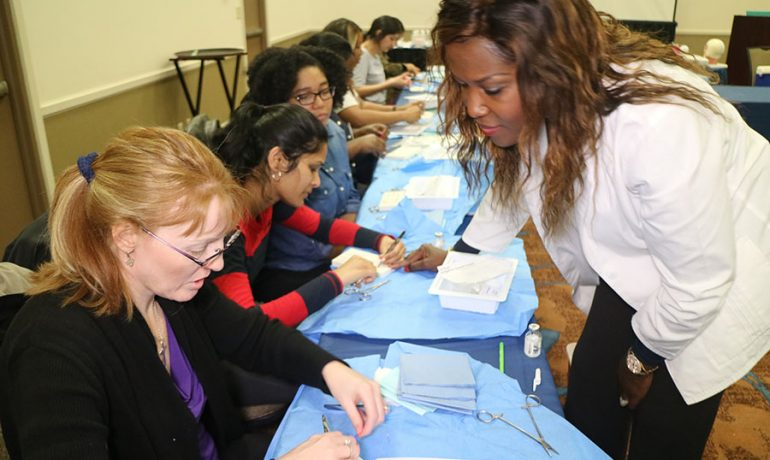 Basic and Advanced Suture Course Atlanta Georgia